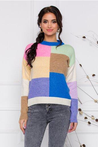 Pulover Ariana multicolor