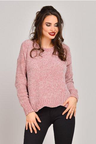 Pulover Sonora roz de iarna