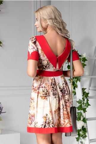 Rochie Aissa de vara cu imprimeuri florale