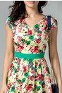 Rochie Aissa de zi cu imprimeu colorat