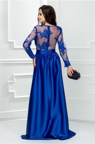 Rochie Artista lunga de seara albastru electric
