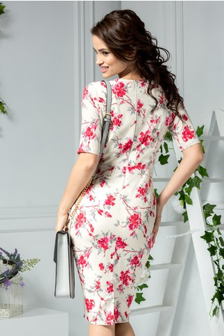 Rochie Blossom midi de vara inflorata