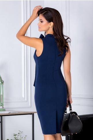 Rochie Bonnie bleumarin conica eleganta
