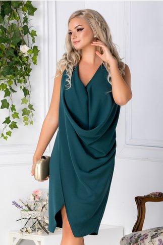 Rochie Brise Anemona verde de ocazie
