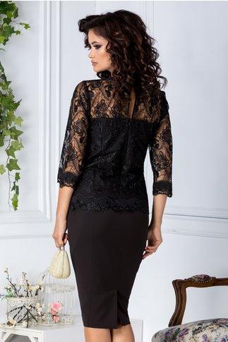 Rochie Celia de ocazie neagra eleganta