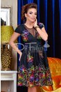 Rochie Colorful Black