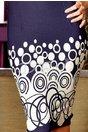 Rochie Dark Blue Rounds Attitude