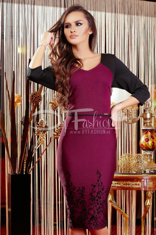 Rochie Dark Purple Sustain