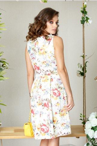 Rochie Eloise din bumbac cu imprimeu floral deosebit