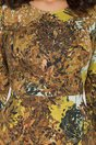 Rochie Elsie cu imprimeuri in culori tomnatice