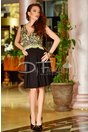 Rochie Golden Embrodery
