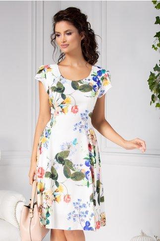 Rochie Helga de zi cu imprimeu floral