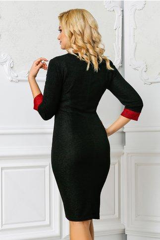 Rochie Ilena neagra eleganta de ocazie