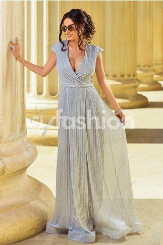 Rochie Juliet Argintie de Seara