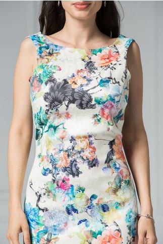 Rochie Klara de vara eleganta cu imprimeu floral