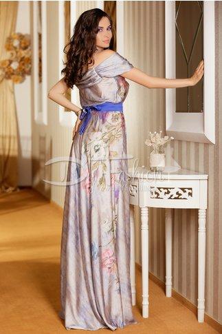 Rochie Silk Cu Imprimeuri