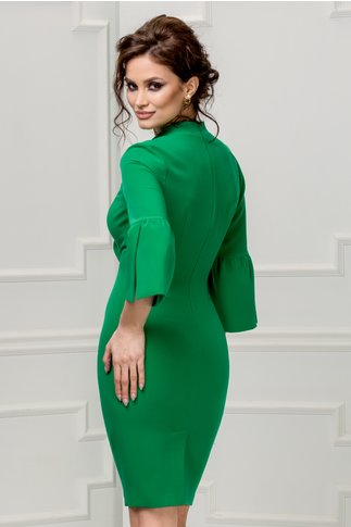 Rochie Leonard Collection Adriel verde eleganta