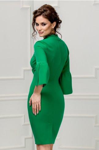 Rochie Leonard Collection Adriel verde eleganta