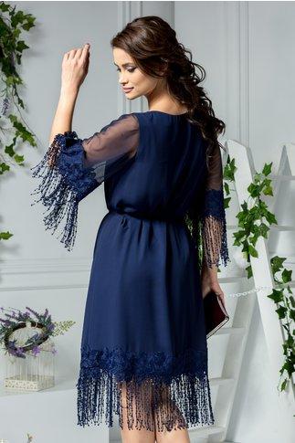 Rochie Leonard Collection bleumarin de ocazie