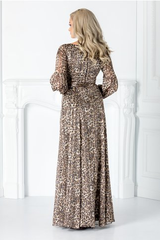 Rochie Leonard Collection lunga cu animal print
