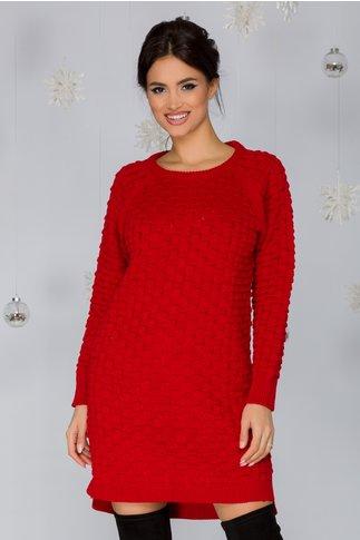Rochie Mary rosie tricotata
