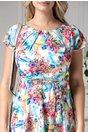 Rochie Missa de vara cu imprimeuri multicolore