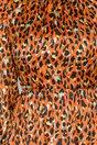 Rochie Moze clos caramizie cu animal print