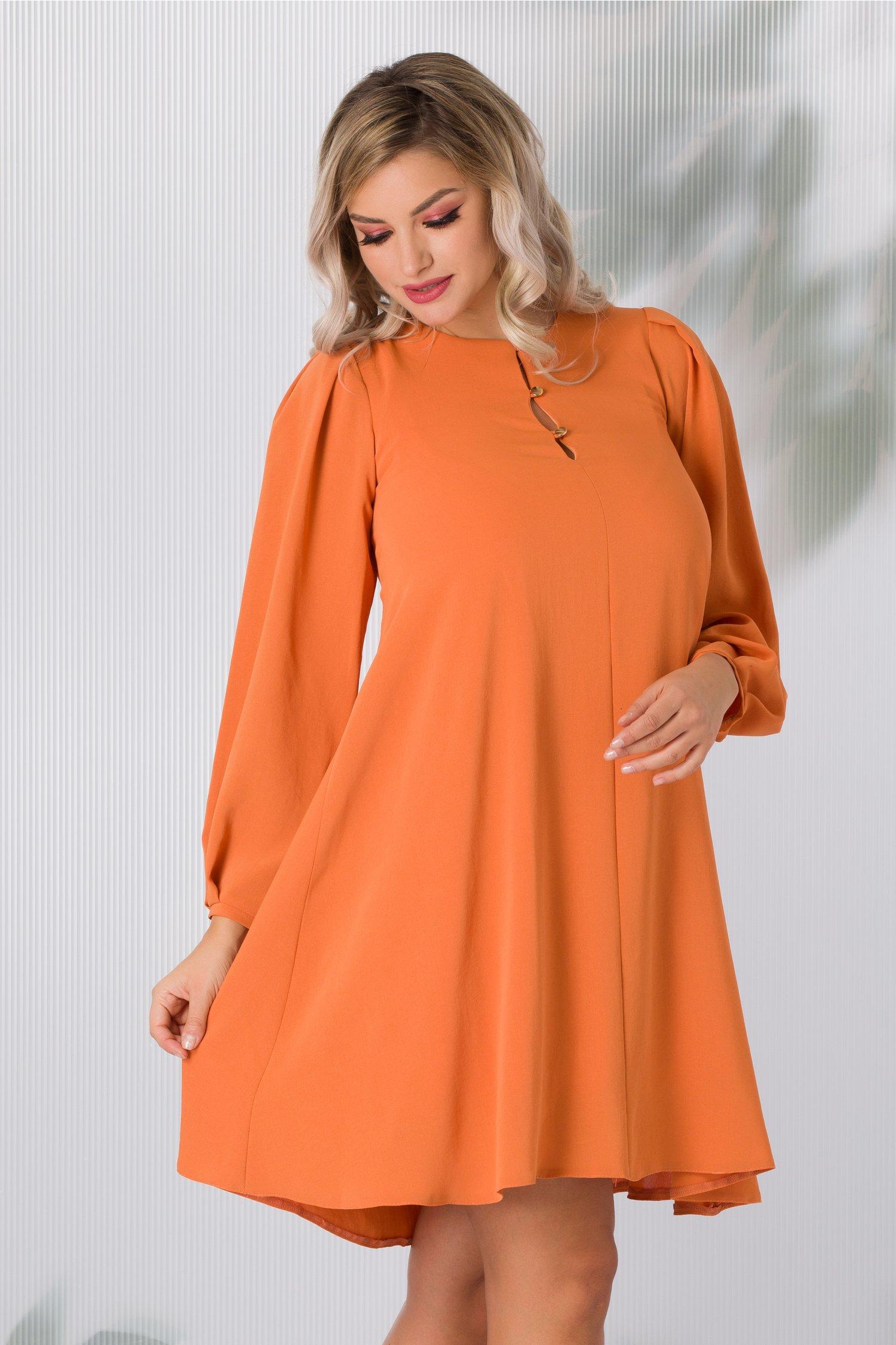 Rochie Moze orange eleganta