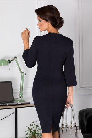 Rochie Myre bleumarin conica office