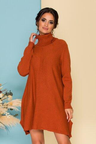 Rochie Nikky caramizie lejera din tricot