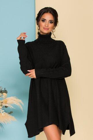 Rochie Nikky neagra lejera din tricot