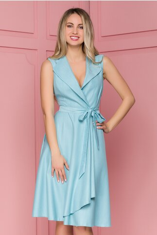 Rochie Sienna bleu petrecuta
