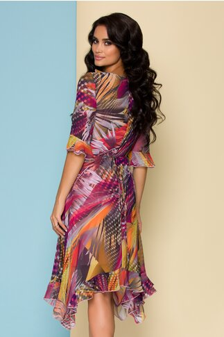 Rochie Sore cu imprimeu divers multicolor
