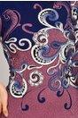 Rochie Verda mov cu imprimeu floral