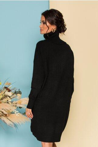 Rochie Verra neagra din tricot