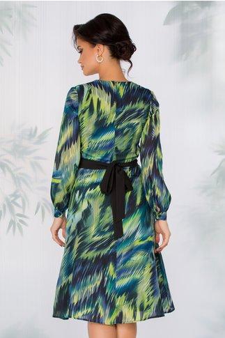 Rochie Windy cu imprimeu wild forest