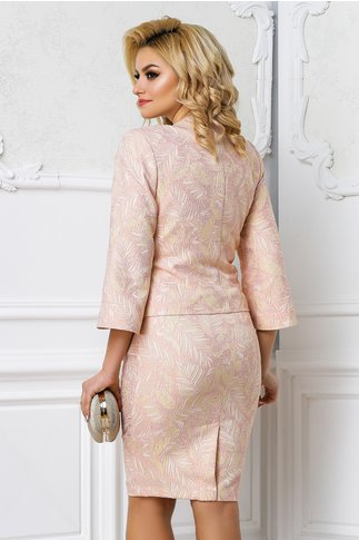 Sacou Leonard Collection Raisa roz pudra elegant
