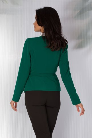 Sacou Leonard Collection verde cu rever special