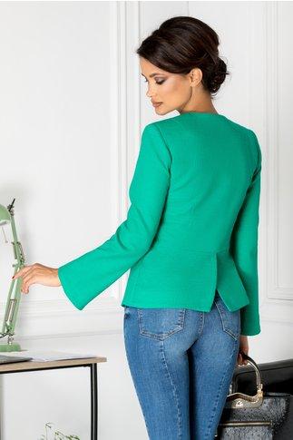 Sacou Zahia verde casual