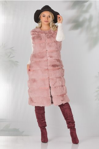 Vesta roz prafuit Otilia lunga din blanita