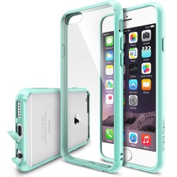Husa iPhone 6 / iPhone 6s Ringke FUSION MINT+BONUS folie protectie display Ringke