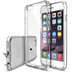 Husa iPhone 6 / iPhone 6s Ringke FUSION CRYSTAL VIEW+BONUS folie protectie display Ringke