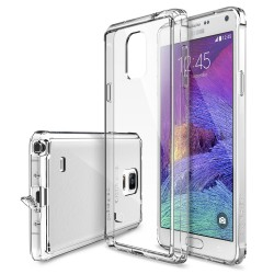 Husa Samsung Galaxy Note 4 Ringke FUSION CRYSTAL VIEW+BONUS folie protectie display Ringke
