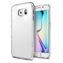Ringke FUSION Samsung Galaxy S6 Edge CRYSTAL VIEW+BONUS Ringke Invisible Defender Screen Protector fata si spate