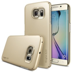 Ringke SLIM Samsung Galaxy S6 Edge ROYAL GOLD+BONUS Ringke Invisible Defender Screen Protector