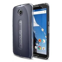 Ringke FUSION Google Nexus 6 CRYSTAL VIEW TRANSPARENT+BONUS Ringke Invisible Defender Screen Protector