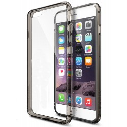 Husa iPhone 6 / iPhone 6s Ringke FUSION SMOKE BLACK+BONUS folie protectie display Ringke