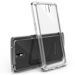 Husa OnePlus One Ringke FUSION CRYSTAL VIEW TRANSPARENT+BONUS folie protectie display Ringke