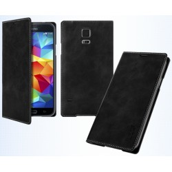 Husa Galaxy S5 Arium Mustang Flip Book Battery Cover negru
