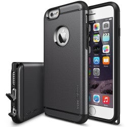 Husa iPhone 6 / 6s Ringke ARMOR MAX GUN METAL+BONUS folie protectie display Ringke